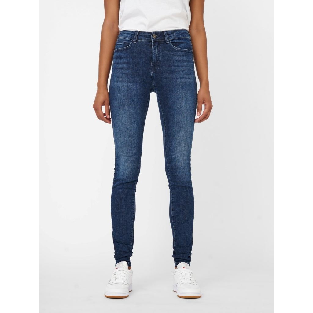 Noisy May dame jeans NMLUCY - Dark Blue