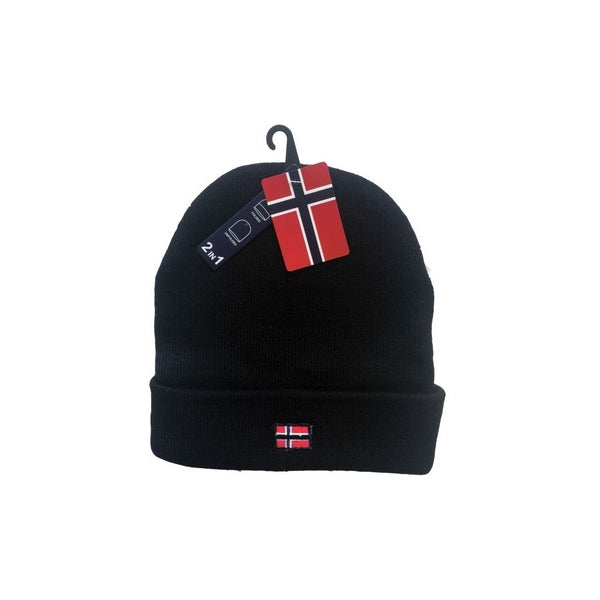 Tex-Time Nordic Hue 2i1 Unisex Hats Black
