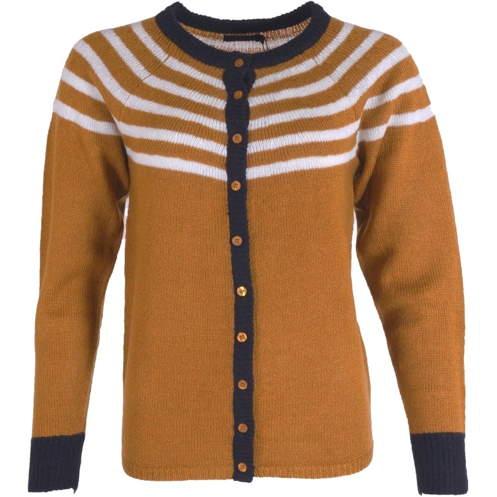 Image of   OFELIA Sanne Cardigan - Curry - L