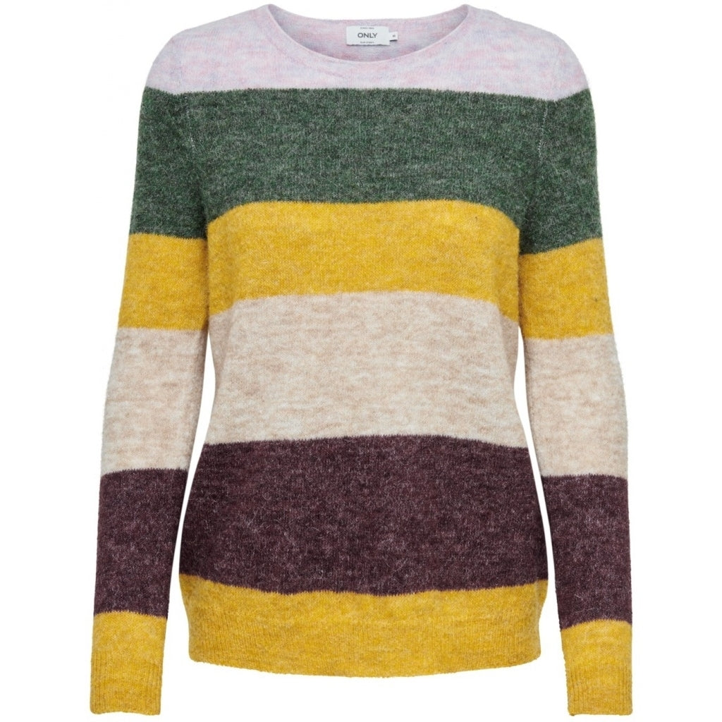 Image of   ONLSUSI LS STRIP PULLOVER WOOL KNT - Stripes - L