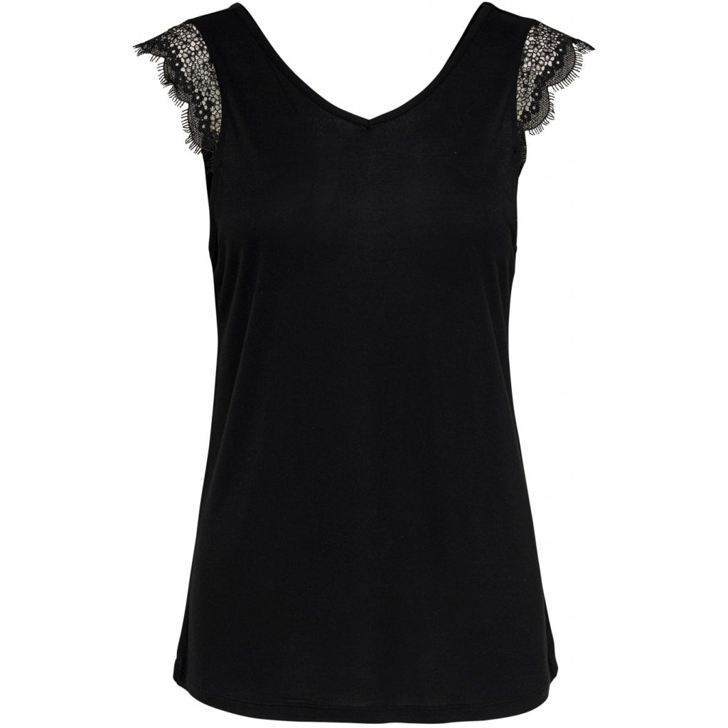 Image of   ONLY Adelina Top - Black - L