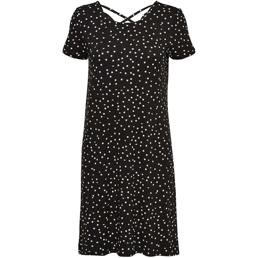 Image of   ONLY Back Lace Dress - Dots - L