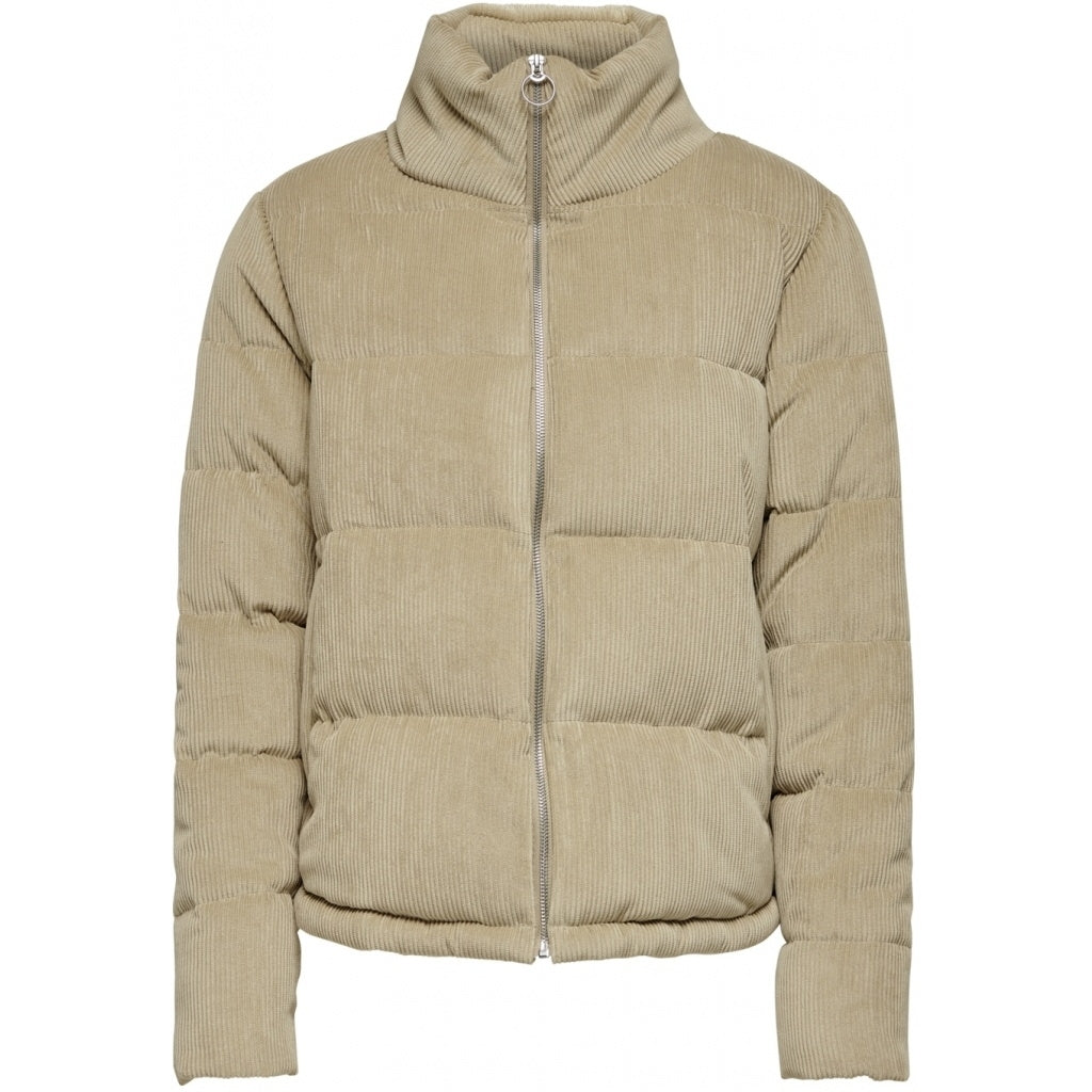 Image of   ONLY Cole Padded Jacket - Beige - L