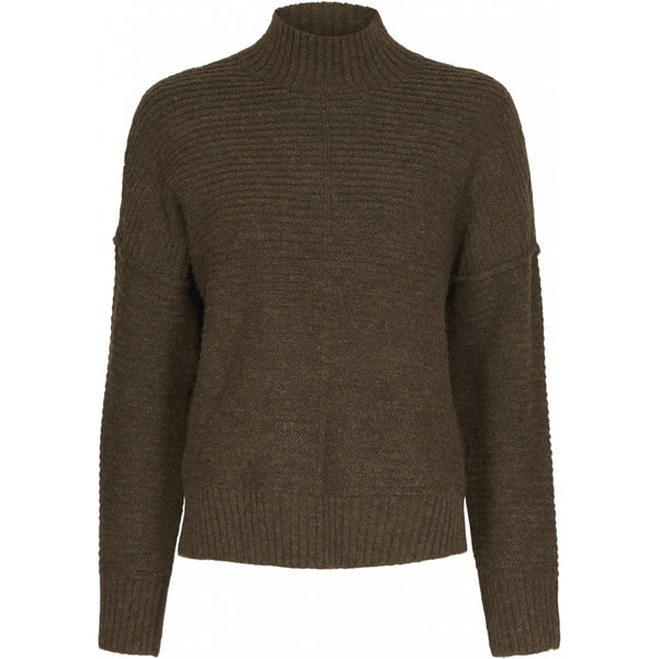 ONLY ONLY Elena Highneck Pullover Knit Beech