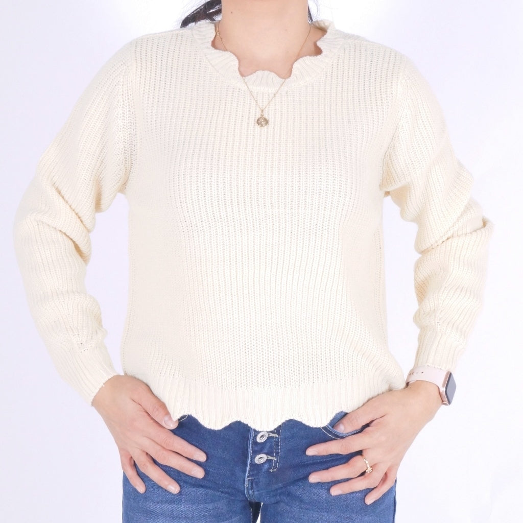 Image of   ONLY Galena Pullover - Beige - XL