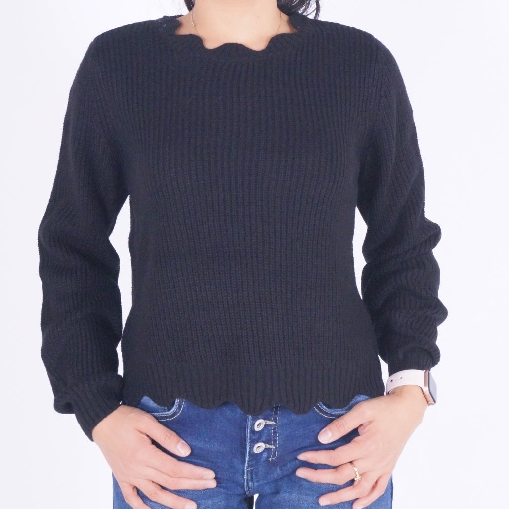 Image of   ONLY Galena Pullover - Black - L