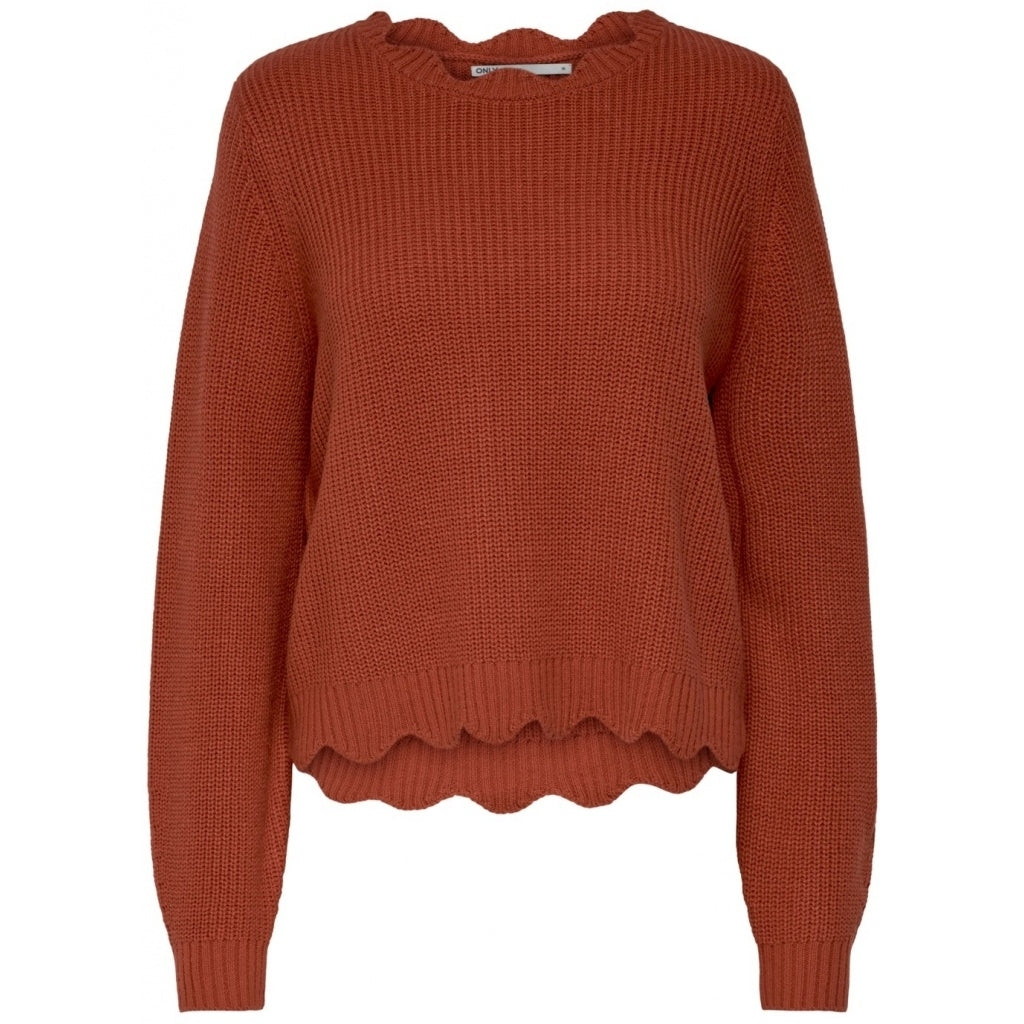 Image of   ONLY Galena Pullover - Ketchup - L