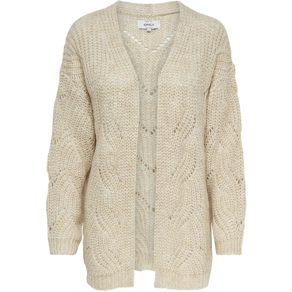 Image of   ONLY Havana Long Cardigan - Beige - L