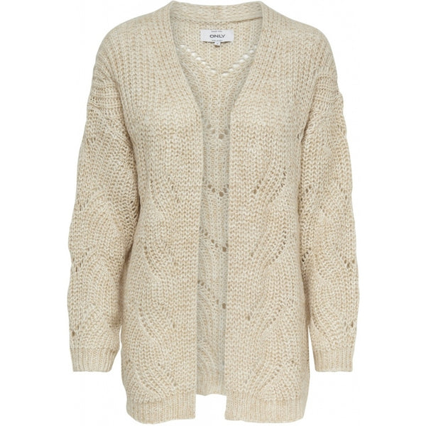 ONLY ONLY Havana Long Cardigan Cardigan Beige