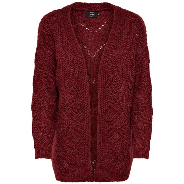 ONLY ONLY Havana Long Cardigan Cardigan Merlot
