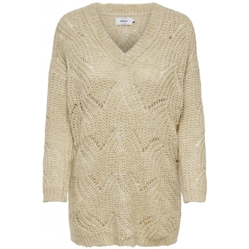Image of   ONLY Havana Pullover - Beige - M