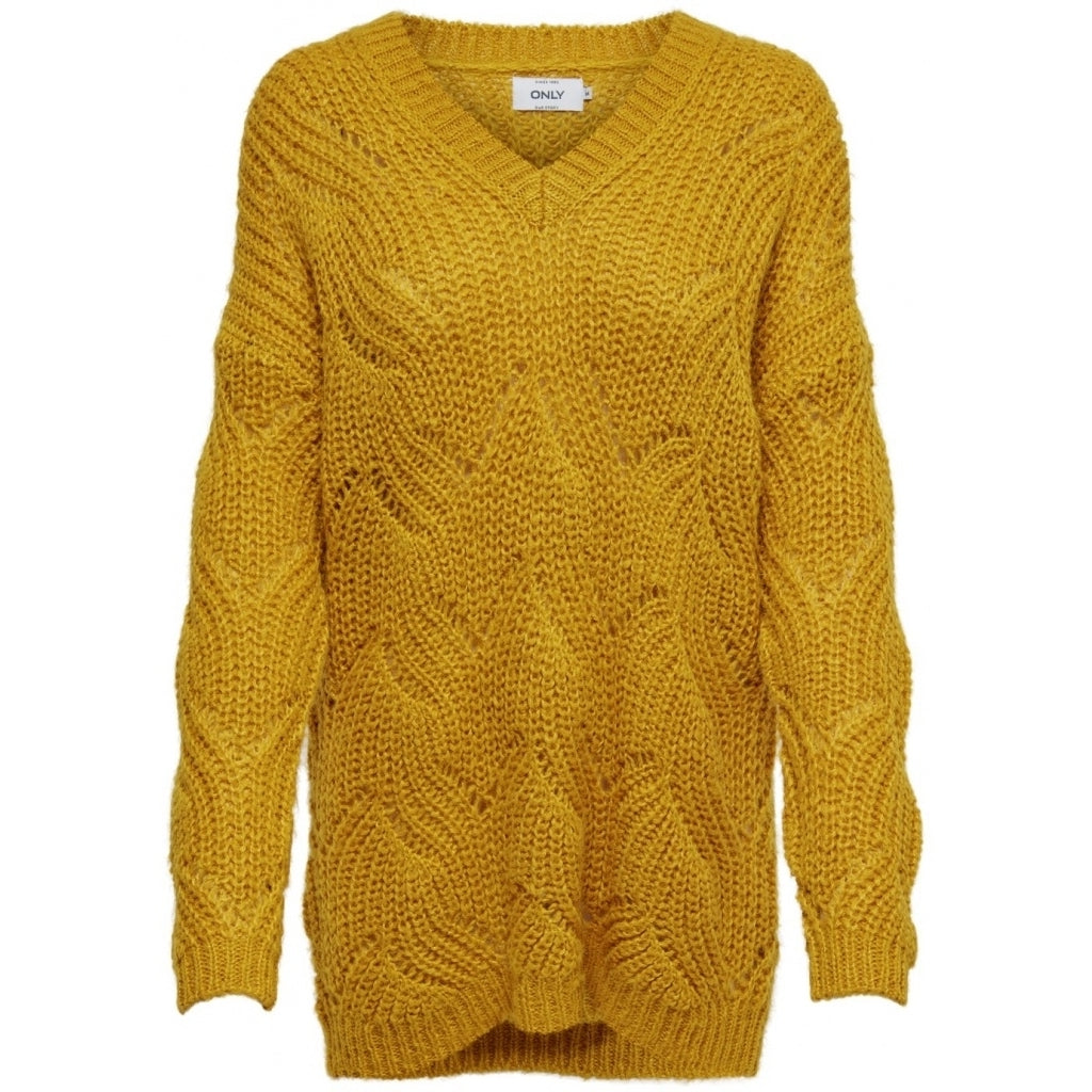 Image of   ONLY Havana Pullover - Yellow - L