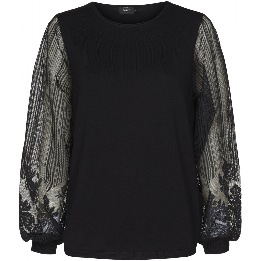 ONLY Lacey Pullover - Black