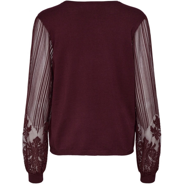 ONLY ONLY Lacey Pullover Pullover Tawny Port