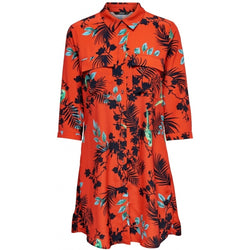 ONLY ONLY Laura Shirt Dress Dress Orange
