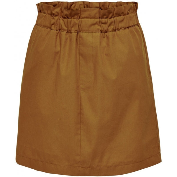 ONLY ONLY Lene Short Skirt Skirt Brown