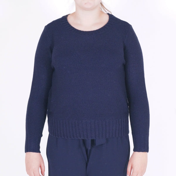 ONLY ONLY Lia Short Pullover Pullover Navy