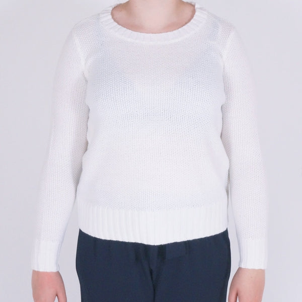 ONLY ONLY Lia Short Pullover Pullover White