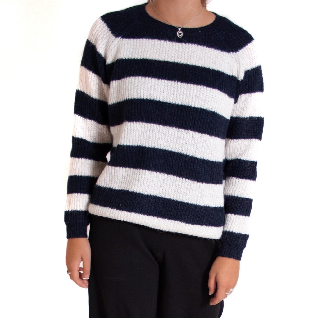 Image of   ONLY Malone Pullover - Night Sky - L