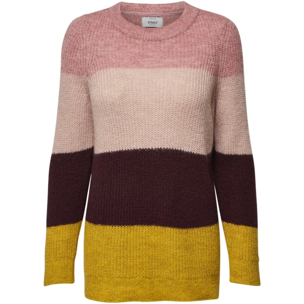 Image of   ONLY Mia Pullover - Pink - L