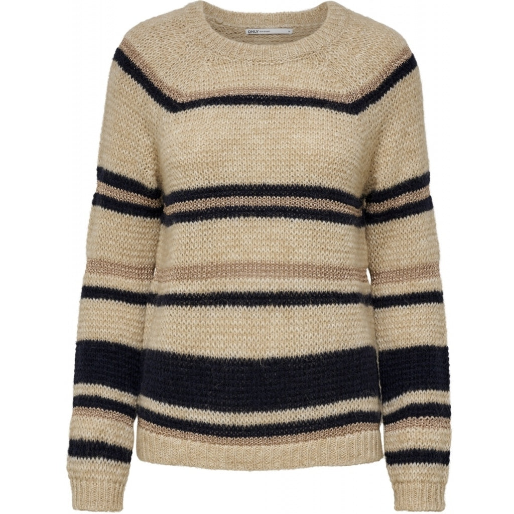 Image of   ONLY Naja Pullover - Pumic stone - L
