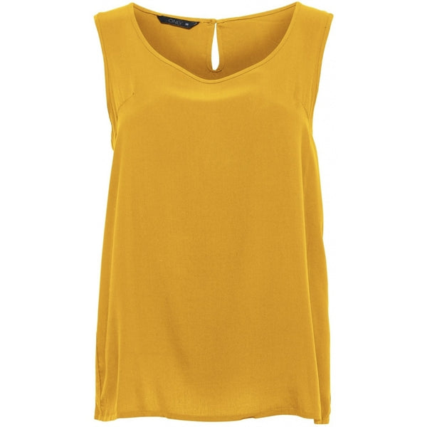 ONLY ONLY Nova Solid Top Top Yellow