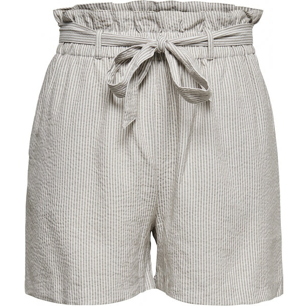 ONLY ONLY SHORTS DAME PAPERBAG ONLSATURN Shorts Grey