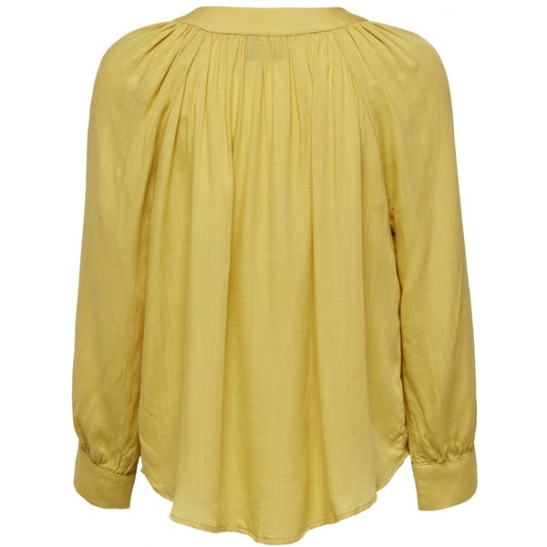 ONLY ONLY Sienna Buttoned Top Top Yellow