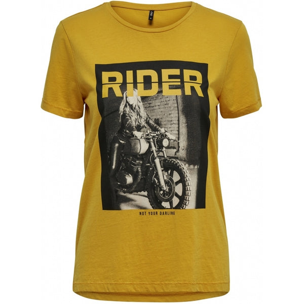 ONLY ONLY Vivian T-shirt Top Yellow