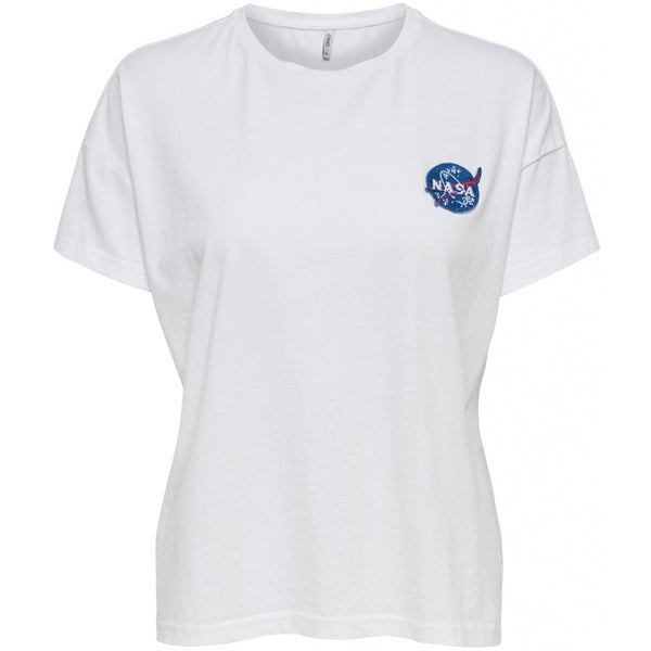 ONLY Only dame top ONLNEW Top White Small logo