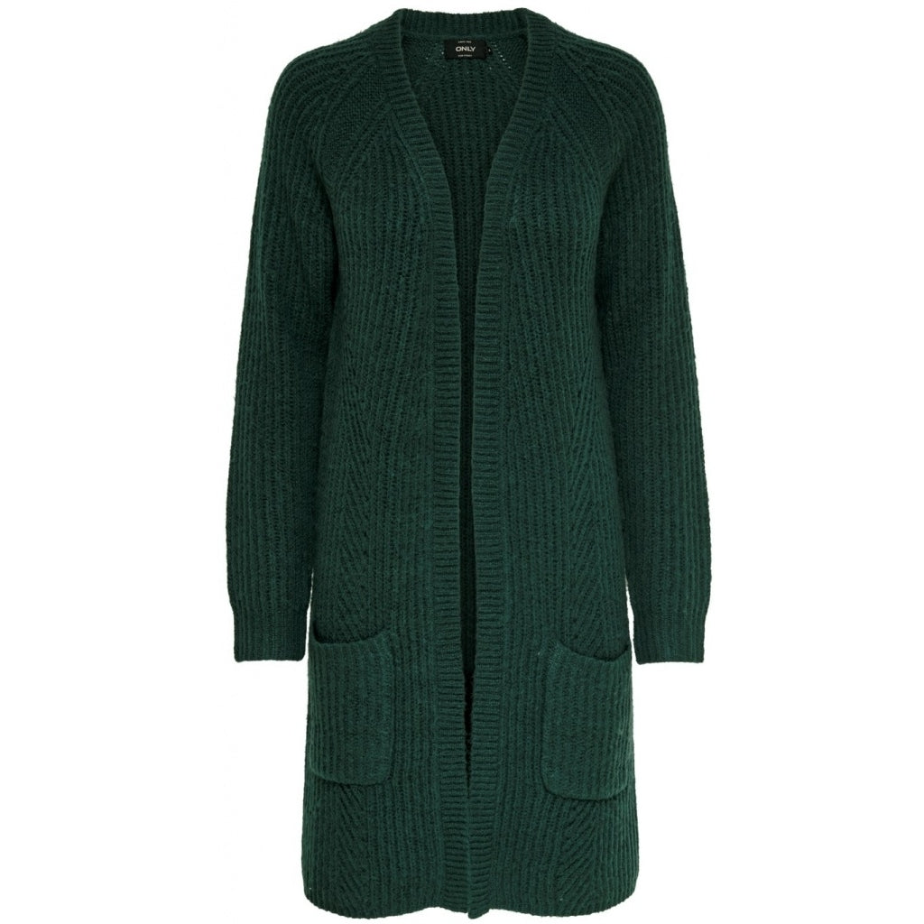 Image of   Only dame trik cardigan ONLBERNICE - Green - L