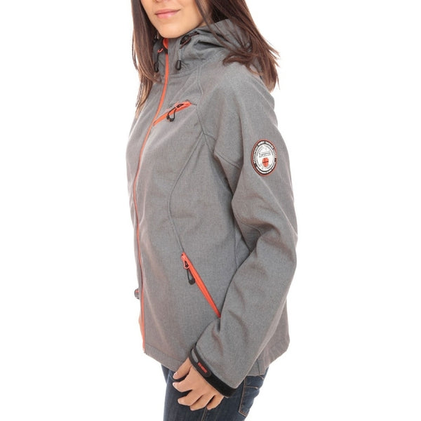Geographical Norway GEOGRAPHICAL NORWAY Softshell jakke Dame TWISTER Softshell Grey/Orange
