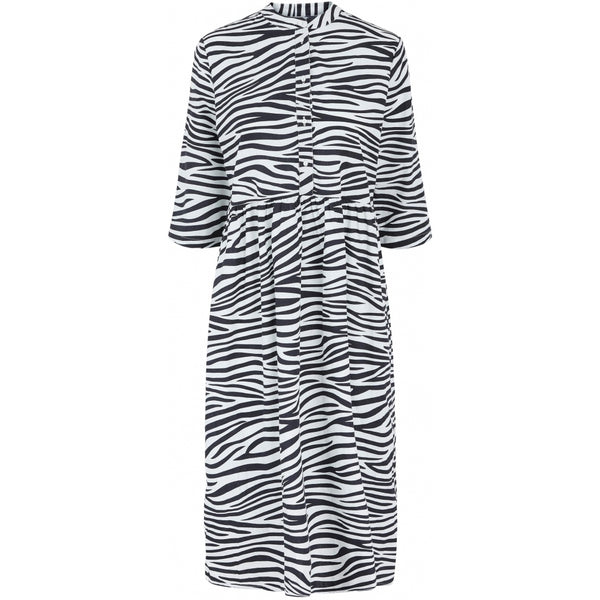 PIECES PIECES dame kjole PCGIRA Dress Zebra