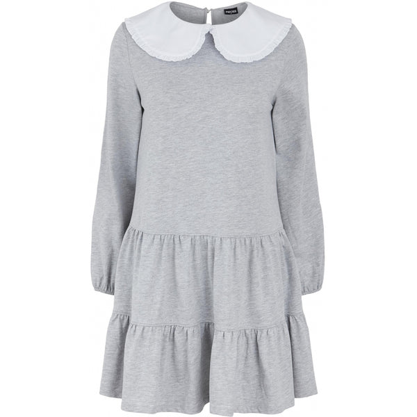 PIECES PIECES dame kjole PCHYLLA Dress Light grey melange