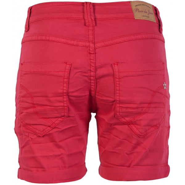 Tex-Time PLACE DU JOUR Dame shorts Shorts Red