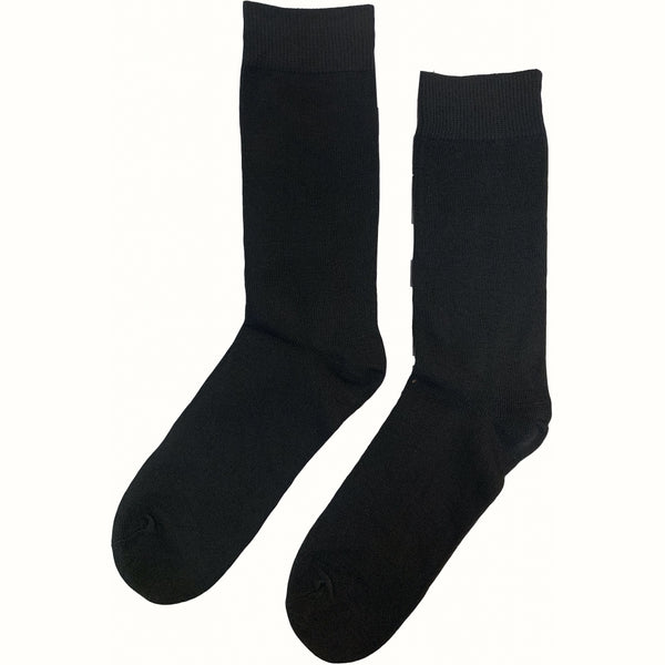 Tex-Time Pesail herre 3pak sokker Socks Black