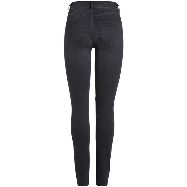 PIECES Pieces dame jeans PCDELLY Jeans Black