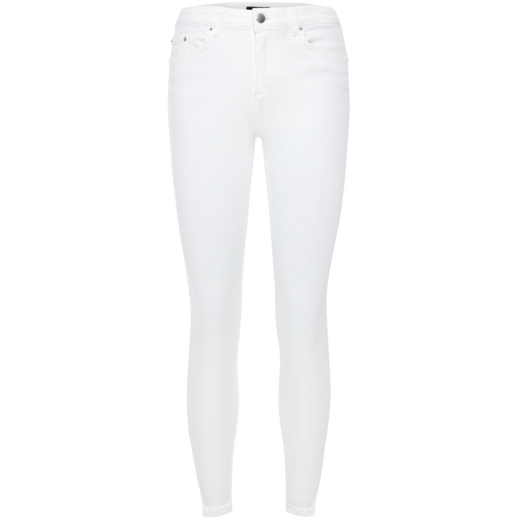 Pieces dame jeans PCDELLY - Bright white