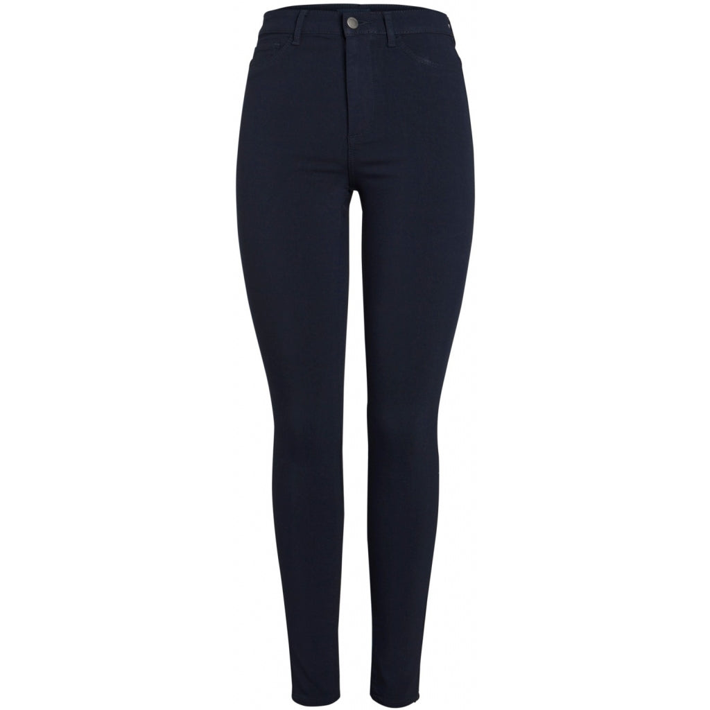 Pieces dame jeans PCHIGHSKIN - Navy