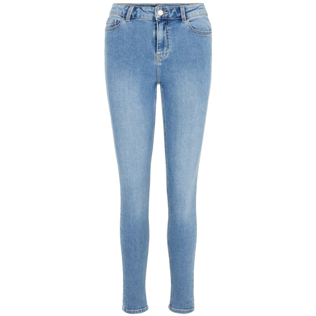 Pieces dame jeans PCKAMELIA - Blue