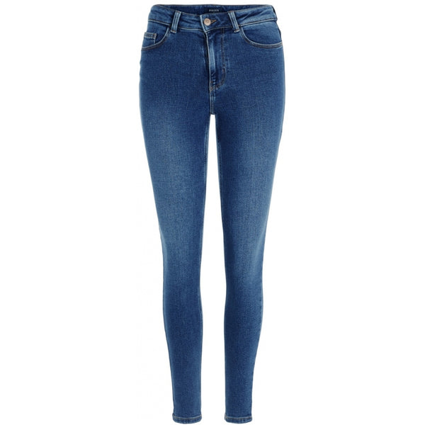 PIECES Pieces dame jeans PCKAMELIA Jeans Medium blue