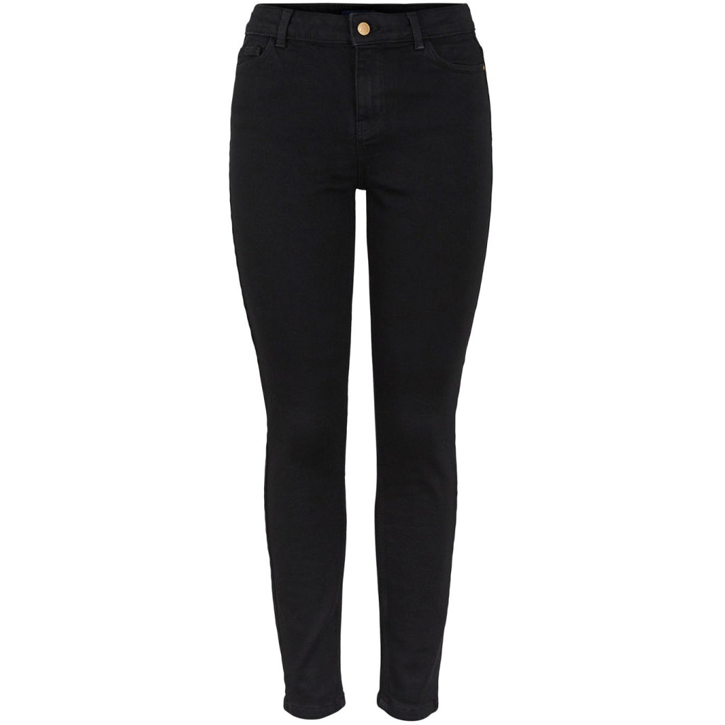 Pieces dame jeans PCKAMELIA - Black
