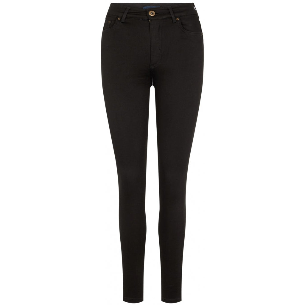 Pieces dame jeans PCNORA - Black