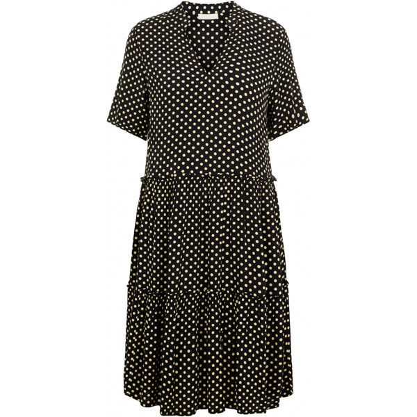 PIECES Pieces dame kjole PCASTA Dress Black