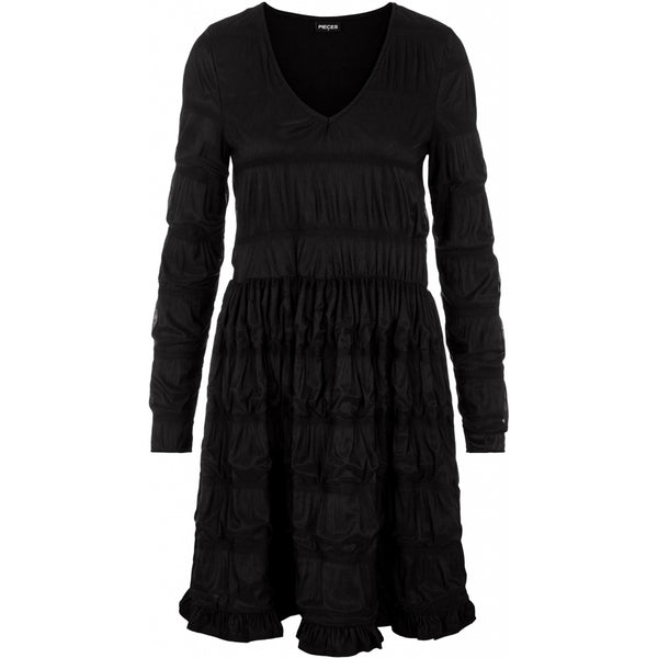 PIECES Pieces dame kjole PCBORA Dress Black