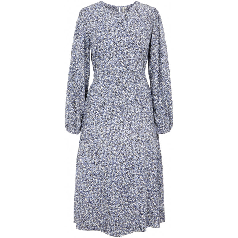 PIECES Pieces dame kjole PCDORA Dress Sky captain