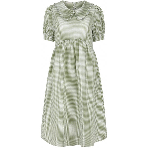 PIECES Pieces dame kjole PCIDA Dress Turtle Green