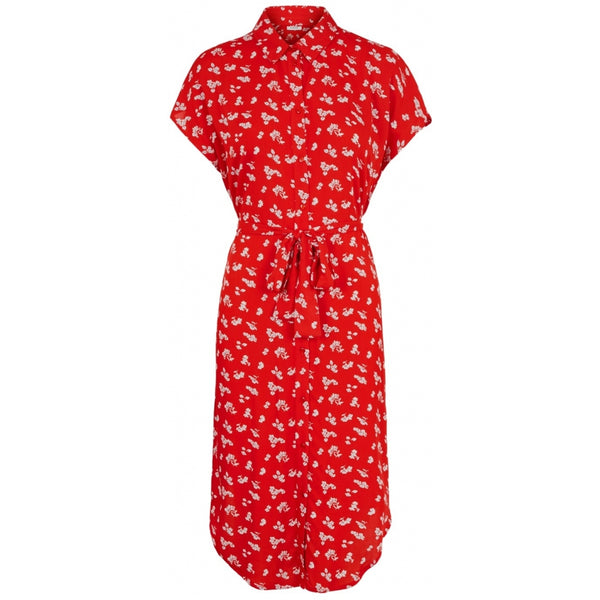 PIECES Pieces dame kjole PCNYA Dress Red