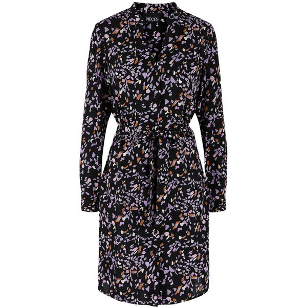 PIECES Pieces dame kjole PCRILLO Dress Purple Heather