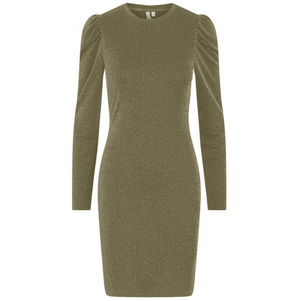PIECES Pieces dame kjole PCSANNA Dress Olive